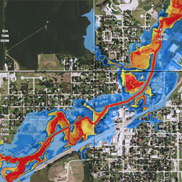 surface water map