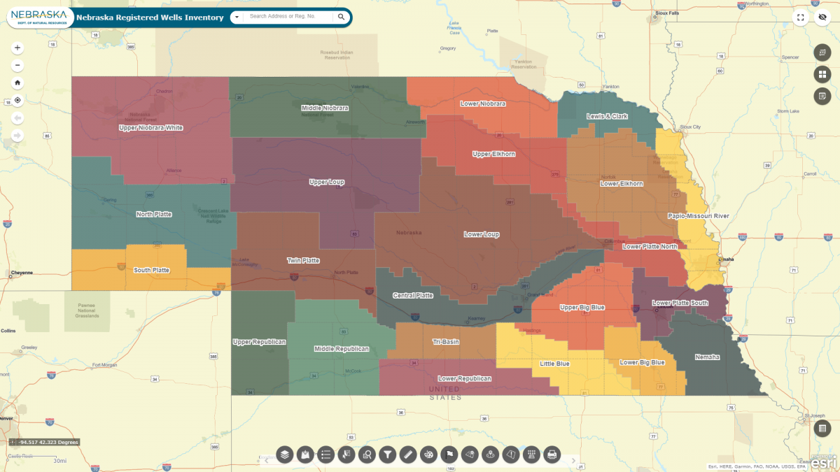 Groundwater Interactive Maps Department Of Natural Resources
