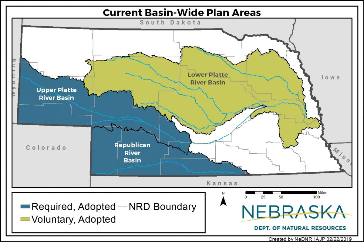 Nebraska basin-wide planning