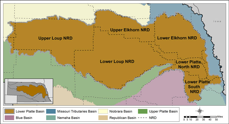 The Lower Platte River Basin  Department of Natural Resources