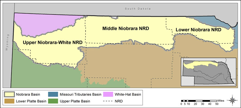 Niobrara River Basin Map