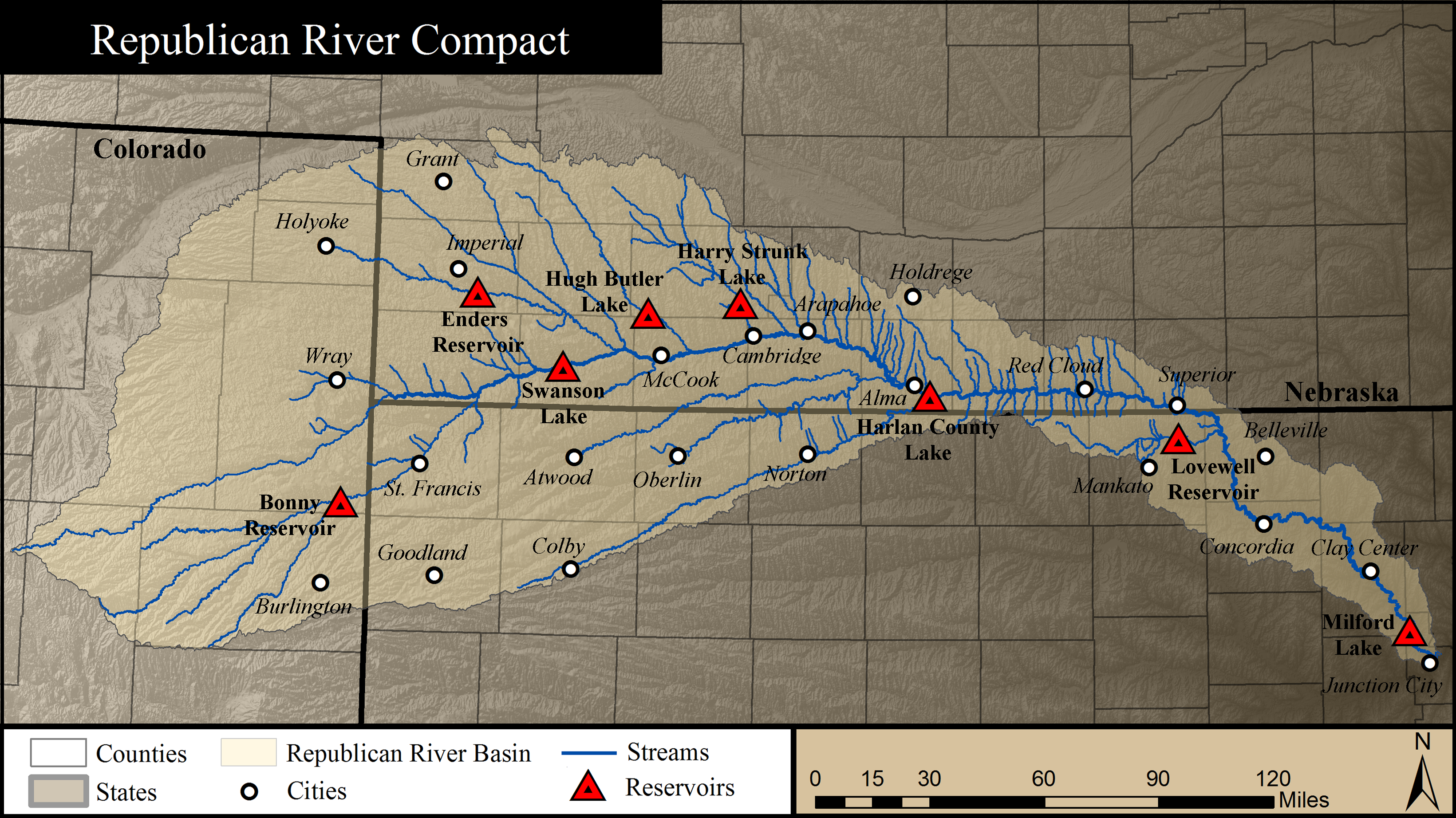 Republican River Compact Area