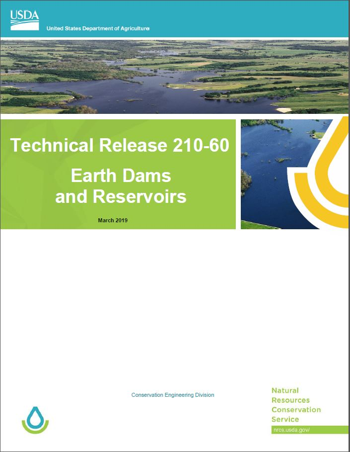 Earthen Dams and Resrvoirs cover