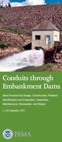 conduits through embankment dams cover