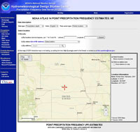 NOAA map screenshot