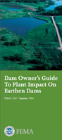 dam owner's guide to plant impact on earthen dams cover